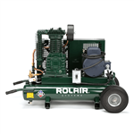 RolAir 5230K30C 5 HP 9 Gal Portable Air Compressor