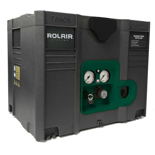 Rolair AIRSTAK 1HP 1.6 Gallon Systainer Compressor