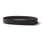 Buckaroo VEL32 32mm Velcro Brand Fastened Belt Black
