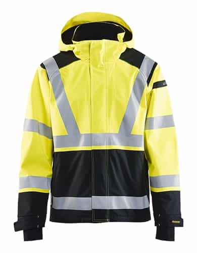 Blaklader 478719873399 Yellow/Black Hi-Vis Jacket Workwear