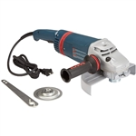 "Bosch 1893-6 9"" Large Angle Grinder with Rat Tail Handle"
