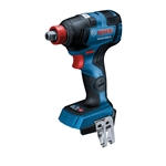 Bosch GDX18V-1800CN 18V EC Brushless Connected-Ready Freak 1/4 In. and 1/2 In. Two-In-One Bit/Socket Impact Driver (Bare Tool)