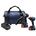 Bosch GXL18V-225B24 18 V 2-Tool Combo Kit with 2 CORE18 V 6.3 Ah Batteries