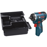 Bosch PS22BN 12V Max EC Brushless Two-Speed Pocket Driver with Exact Fit Insert Tray