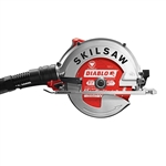 SkilSaw SPT67FMD-22 7-1/4 in. SIDEWINDER Circular Saw for Fiber Cement with Diablo HardieBlade and Dust Collection System