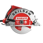 SkilSaw SPT67WMB-22 7-1/4 in. Magnesium SIDEWINDER Circular Saw with Brake and Diablo 24T Carbide Saw Blade