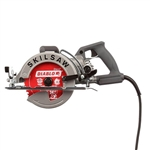 SkilSaw SPT77W-22 7-1/4 in. Aluminum Worm Drive Saw with Diablo Carbide Blade