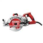 SkilSaw SPT77WML-72 7-1/4 in. Lightweight Worm Drive Saw with Twist Lock and Diablo Carbide Blade