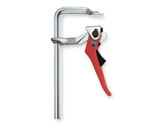 "Bessey LC12 12"" Bar Clamp Steel Handle and 5-1/2"" Throat Depth"