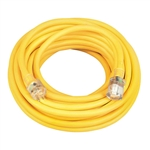 Southwire 02688 10/3 50-Foot Vinyl Outdoor Extension Cord with Lighted End