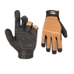 Custom LeatherCraft 124L High Dexterity Flexgrip WorkRight Gloves - Large