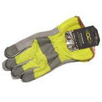 CLC Custom Leathercraft  2150L Hi-Viz Gear Safety Cuff Gloves
