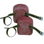 CLC Molded, Natural Rubber Kneepads (Single Strap)