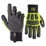 CLC 602 Heavy-Duty Impact Gloves with Silicone Palm