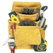 CLC 10 Pocket Top Grain Carpenter's Nail & Tool Bag