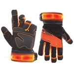 CLC L145 Safety Viz Pro Lighted Safety Gloves