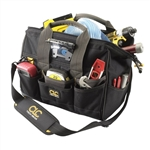 CLC L230 Lighted 14 in. Closed Top Tool Bag - 29 Pocket