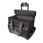 CLC L258 Lighted Handle 17 in. Roller Tech Gear Bag - 17 Pockets