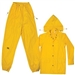 CLC Yellow Polyester 3 Piece Suit - M