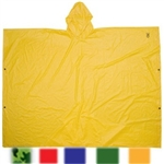 CLC Lightweight PVC Poncho, Red