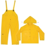 CLC 3 Piece Medium-Weight PVC Rain Suit - M