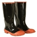 CLC Red Sole & Toe Rubber Boot - Size 8