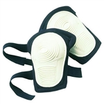 CLC Stitched, Flex Rubber, Non-Skid Kneepads (Hook & Loop Fastener)