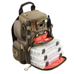 Wild River WT3503 Tackle Tek Recon LED Lit Compact Backpack with Trays by CLC