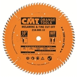 CMT 210.080.10 Industrial Fine Cut-Off Saw Blade, 10-Inch x 80 Teeth 40� ATB Grind with 5/8-Inch Bore, PTFE Coating