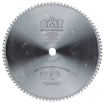 CMT 226.080.12 Industrial Dry Cut Steel Saw Blade, 12-Inch x 80 Teeth 8 Degree FWF Grind with 1-Inch Bore