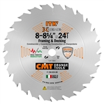 CMT 250.024.08 ITK Industrial Framing/Decking Saw Blade, 8-1/4 in.