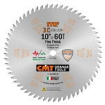 CMT 253.060.10 ITK 10 in. x 60 Teeth Miter Saw Blade