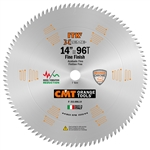 CMT 253.096.14 ITK 14 in. x 96 Teeth Miter Saw Blade