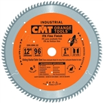 CMT 255.096.12 ITK Industrial Fine Finish Saw Blade, 12-Inch x 96 Teeth 40� ATB Grind with 1-Inch Bore