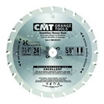 CMT 286.024.07 Demolition & Rescue Saw Blade, 7-1/4-Inch X 24 Teeth TCG Grind with 5/8-Inch<> Bore