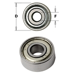 CMT 791.007.00 Bearing, 19mm Diameter, 5mm Smaller Diameter