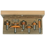 CMT 800.515.11 6-Piece Cove Cabinetmaking Set, 1/2-Inch Shank