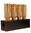 Coilhose Pneumatics 3043-15C 4-Port Industrial Interchange Straight Manifold