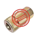 "Coilhose Pneumatics 3/8"" AUTOMOTIVE COUPLER, 1/4"" FPT"