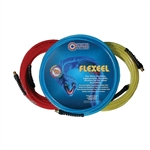 Coilhose PFE40254TR. 1/4 Inch x 25 Ft, 1/4 Inch MPT Reusable Strain Relief Fittings, Flexeel Air Hose