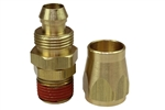 Coilhose Pneumatics PSM0606 Reusable Replacement Fitting For 3/8-Inch ID Hose, 3/8-Inch MPT Swivel