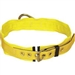 Capital 1000001 Tongue buckle belt, back D-ring, 3 pad (XS size)
