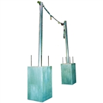 7400260 60' SecuraSpan Concrete Pour-In-Place Horizontal Lifeline System by DBI Sala