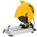 "DeWalt D28715 Heavy-Duty 14"" Chop Saw w/ Quick-Change Keyless Blade Change System"