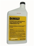 Dewalt Compressor Oil Synthetic1 Quart