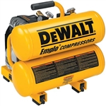 Dewalt D55151 1.1 Hp 4 Gallon Electric Hand Carry Air Compressor