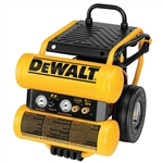 Dewalt D55154 4 Gal Electric Wheeled Dolly-Style Air Compressor