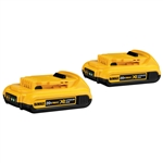 DCB203-2 20V MAX Compact Lithium Ion 2-Pack by DeWalt