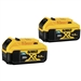 Dewalt DCB205BT-2 20V MAX Tool connect 5.0AH Battery 2 Pack