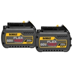Dewalt FLEXVOLT 20/60V MAX Battery Pack 6.0Ah Dual Pack